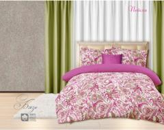 Комплект постельного белья 'Пейсли' - в мяте розовом - Бязь «AZALA Textile»