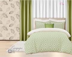 Комплект постельного белья 'Ою' зеленая расцветка - Бязь «AZALA Textile»
