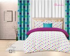 Комплект постельного белья 'Звездочки' - Бязь «AZALA Textile»