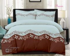 Комплект постельного белья 'Азалия' в голубом - Ранфорс «AZALA Textile»
