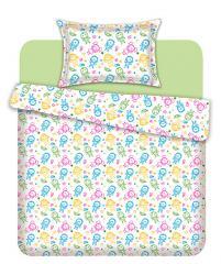 Комплект постельного белья 'Смайлики' - Бязь «AZALA Textile»