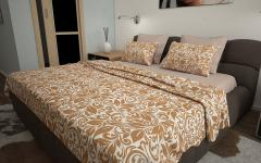 Комплект постельного белья 'Майя' в горчичном - Бязь «AZALA Textile»