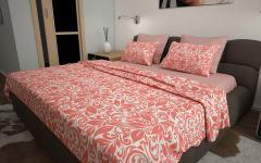 Комплект постельного белья 'Майя' в красном...