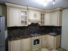 Кухонный гарнитур Валенсия 3,0 (угол 1,20) Левада Мебель бежевый