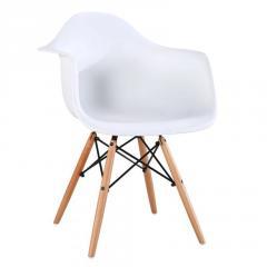 """Кресло \""""Прайз\"""" (ПЛ белый) Домини Мебель (ольха)"""
