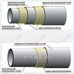 Рукава высокого давления двухоплеточные 2SN