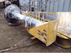 Electric bracket crane, manual
