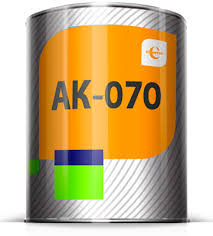 AK-070 soil on non-ferrous metals