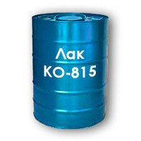 KO-815 varnish heat-resistant to 4000C