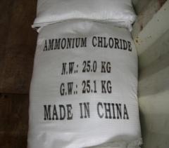 Аммоний хлористый порошок, Китай