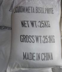 Натрий метабисульфит (Китай)