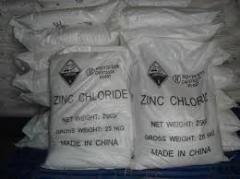 Цинк хлористый б/водный (Китай)