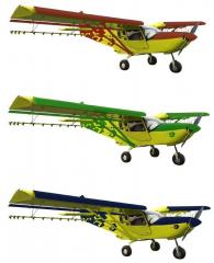 AGRO economic all-metal 4-seater plane CH801-HD EW