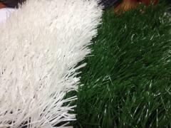 Трава искусственная белая, для разметки хорошего качества 40мм Казахстан