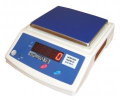 Весы МТ 0,6 В1ДА-0 витрина (600г Х 0.1г; ПЛАТФ.