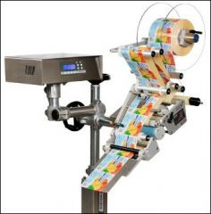 Labeling head of Intrex 100 and 200, available in