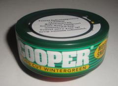 Tobacco chewing Cooper Vintergrin