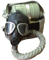 Gas mask the isolating IP-4MK with the boss of