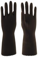 Перчатки КЩС тип 1 L-U-03 (натур. каучук), размер