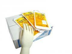 Gloves surgical latex (size 6) (1 unitary
