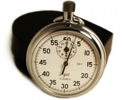 SOPPR-2A-2-010 stop watch (1knop., with