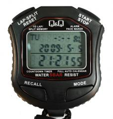 Stop watch electronic HS-45 (memory 10 rezult.,