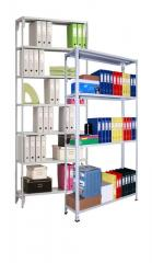 Archival racks of the MS-100 series (load of the
