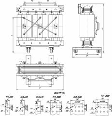 Трансформаторы сухие с литой изоляцией серии