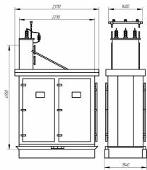 Комплексные конденсаторные установки типа ККУ