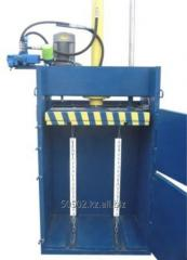 Press hydraulic for waste paper of PET of bottles