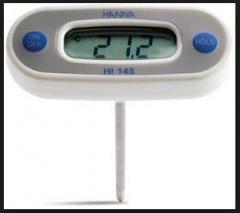 The pocket electronic thermometer with the sensor