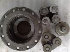 Spare parts to excavators