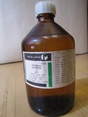 Hydrochloric acid of 0,1 N.