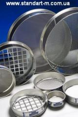 Sieve laboratory s12/38 (d 120 of mm x h 38 of mm;