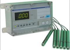 The sensor oxygen DK-404 for continuous control of