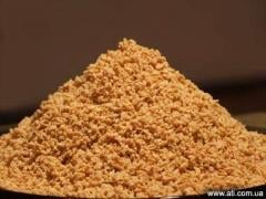 The soy protein textured