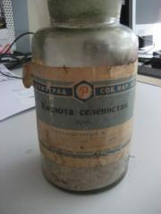 Реактив химический селенистая кислота