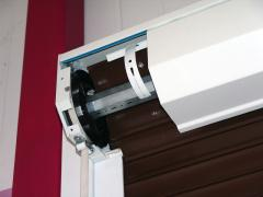 Protective rolling shutters