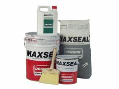 Makssil (Maxseal) the Waterproofing covering for