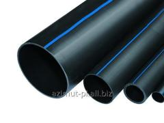 Pipes polyethylene for a water supply system
