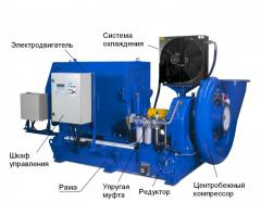 Blowers, turbocompressors