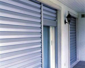 Rolling shutters steel