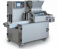 Трехбункерная машина для производства трехцветного