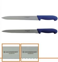 "Нож хлебный Cake knife ""Blue line"""