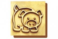 Company baking dish - the Pig