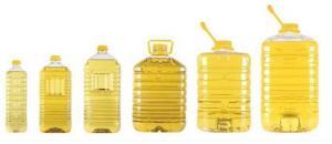 Sunflower oil bottled, Expor