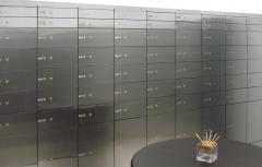 Bank equipment (Depository storage)