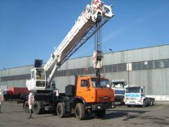 Automobile crane KamAZ 6540