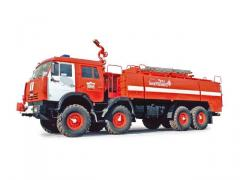 Airfield AA 12/70 fire truck (KAMAZ-63501 chassis