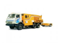 Equipment for patching of roads, ED-105.1 thermos